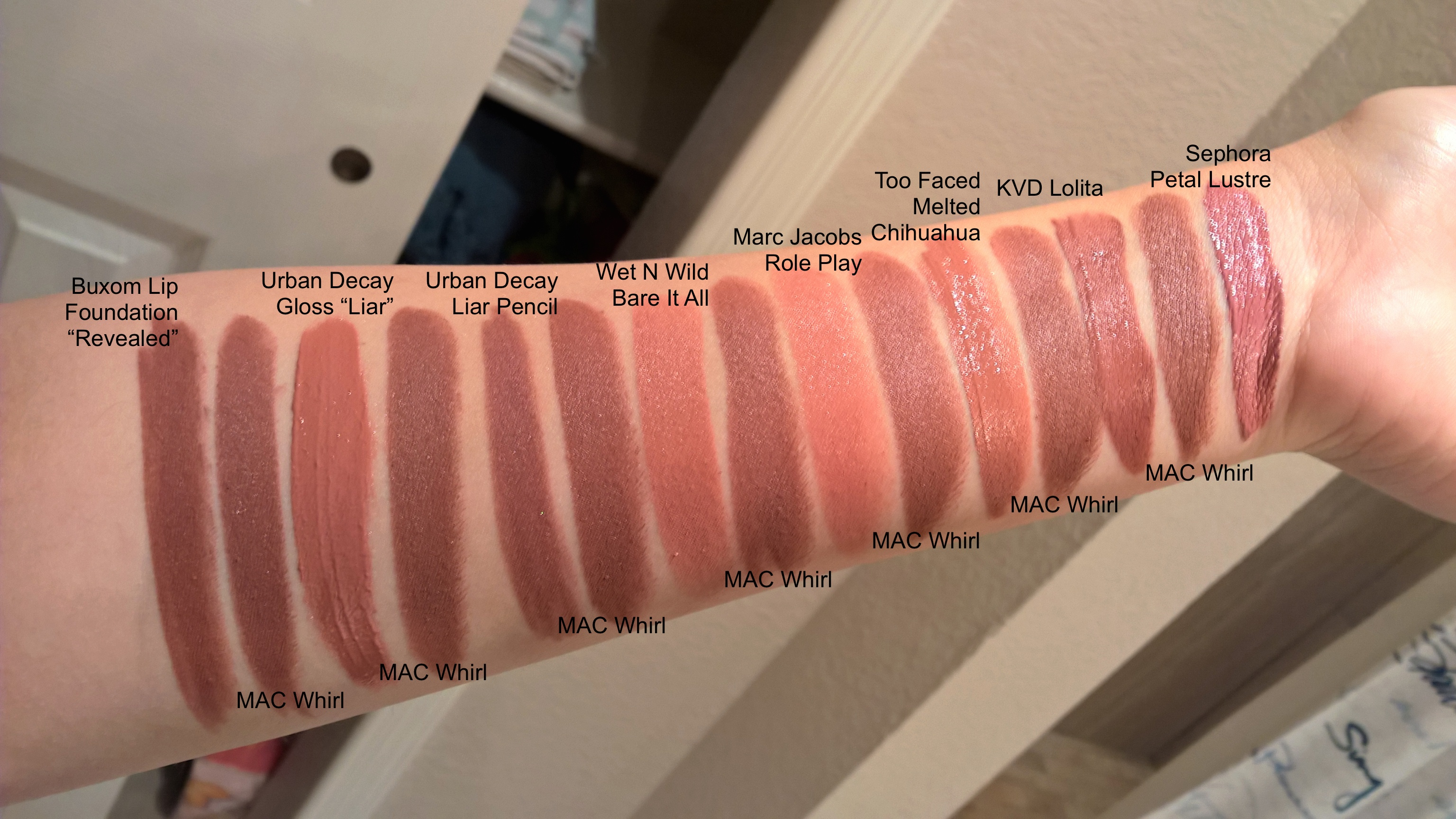 Huge comparison post dupes for mac the matte lip lipsticks the
